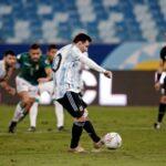 Меси с рекорд за Аржентина в паметен мач