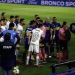 Арести за играчи на Бока след бой с полицаи