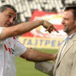 Стойчо Младенов е треньор №14 в ЦСКА при Гриша Ганчев
